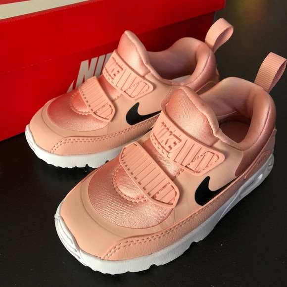 Nike Air Max Tiny 90 Toddler, Coral Stardust NWT